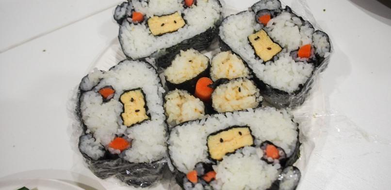 英語が苦手な私でも…イングリッシュオンリー寿司アート体験レポ