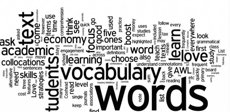 英単語ボキャブラリー測定チェック!